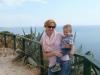 Susanne & Jan beim alten Fort auf Dugi Otok