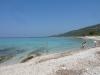 weisser Strand - gibt es auch in Kroatien